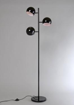 Design STEHLEUCHTE ORBIS schwarz / Retro-Look / Stilvoll und elegant / Blickfang für Ihr Zuhause - 1