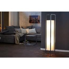 Invicta Interior Agapune Exzeptionelle Stehlampe weiß 125cm - 1