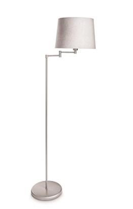 moderne stehlampe in gro wei. Black Bedroom Furniture Sets. Home Design Ideas