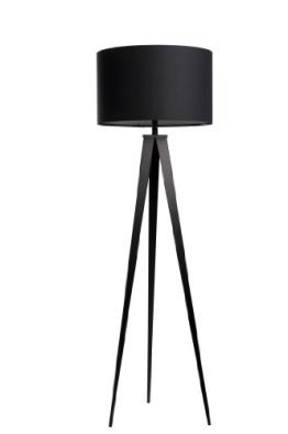 Zuiver 5000801 Floor Lamp Tripod, Metall, schwarz - 1