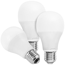 3x mumbi XQ-Lite LED-Lampe E27 10W / dimmbar / 2700 Kelvin / warmweiß / 810 Lumen / Energieklasse A+ (ersetzt E27 60 Watt Glühbirne) - 1