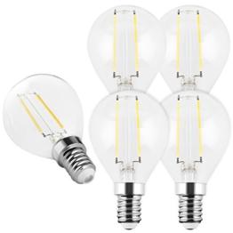 5x mumbi XQ-Lite LED-Lampe E14 2W / 2700 Kelvin / warmweiß / 200 Lumen / Energieklasse A++ (ersetzt E14 20 Watt Glühbirne) - 1